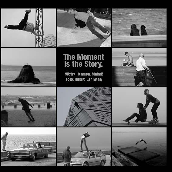 The moment is the story